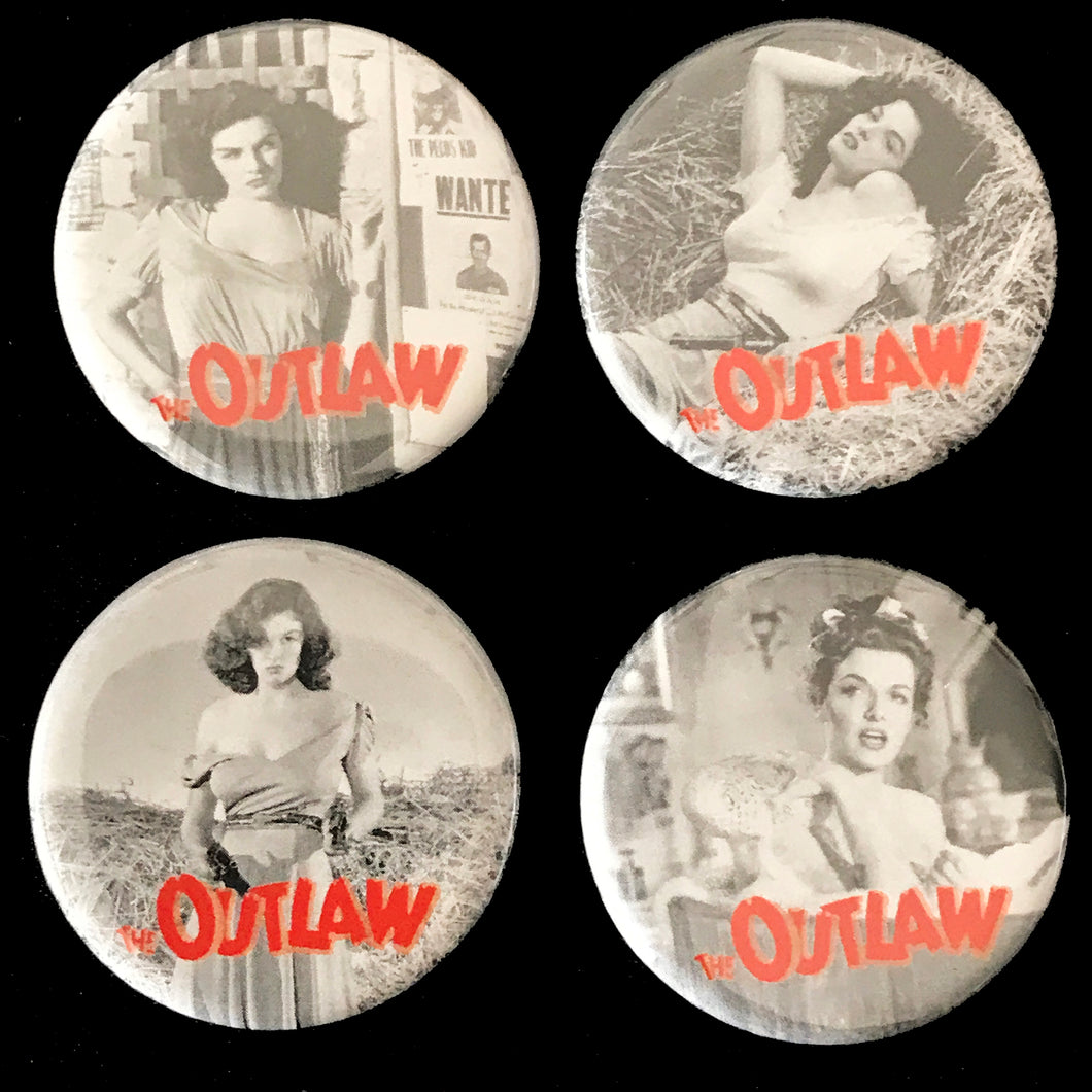 The Outlaw (1943) Button Set