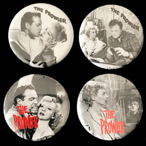 The Prowler (1951) Button Set