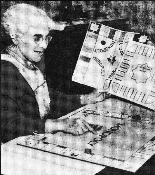 Lizzie Magie - the inventor of the Landlord's Game