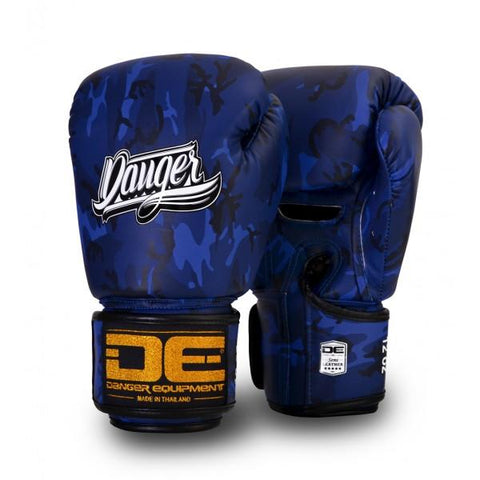 Boxing Gloves - Danger Blue Army Edition Boxing Gloves