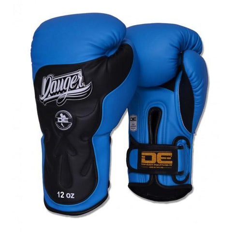 Boxing Gloves - Danger Blue / Black Ultimate Fighter Edition Boxing Gloves