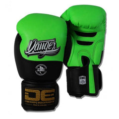 Boxing Gloves - Danger Neon Green / Black Evolution Kids Boxing Gloves