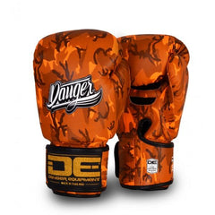 Boxing Gloves - Danger Orange Army Edition Boxing Gloves