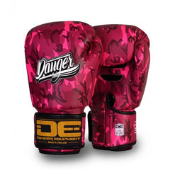 Boxing Gloves - Danger Pink Army Edition Kids Boxing Gloves