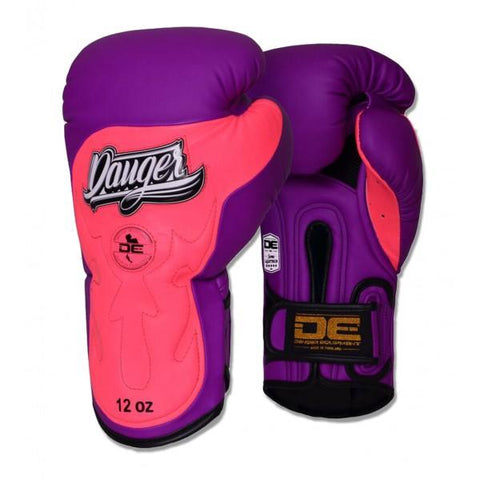 Boxing Gloves - Danger Purple / Pink Ultimate Fighter Edition Kids Boxing Gloves