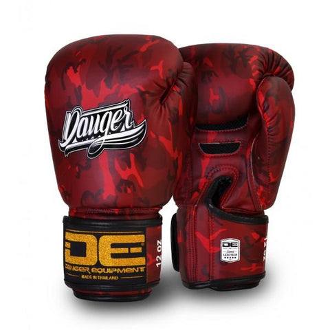Boxing Gloves - Danger Red Army Edition Boxing Gloves