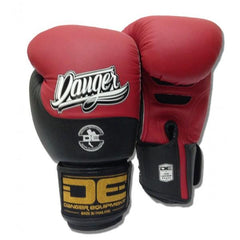 Boxing Gloves - Danger Red / Black Evolution Boxing Gloves