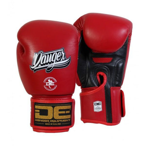 Boxing Gloves - Danger Red / Black Super Max Edition Boxing Gloves