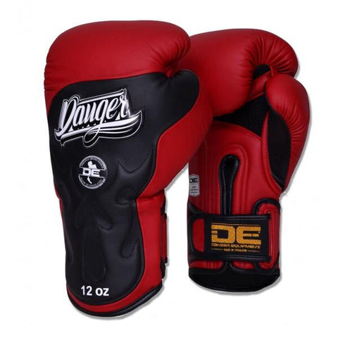Boxing Gloves - Danger Red / Black Ultimate Fighter Edition Boxing Gloves
