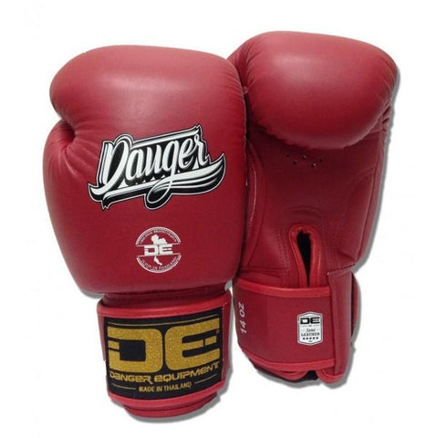 Boxing Gloves - Danger Red Classic Edition Kids Boxing Gloves