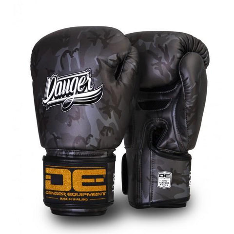 Boxing Gloves - Danger Silver Army Edition Boxing Gloves
