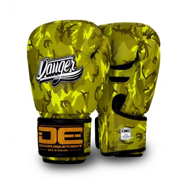 Boxing Gloves - Danger Yellow Army Edition Boxing Gloves