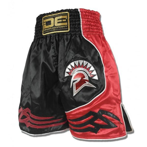 "Boxing / K-1 Shorts - Danger Black / Red ""Gladiator"" Boxing / K-1 Shorts"