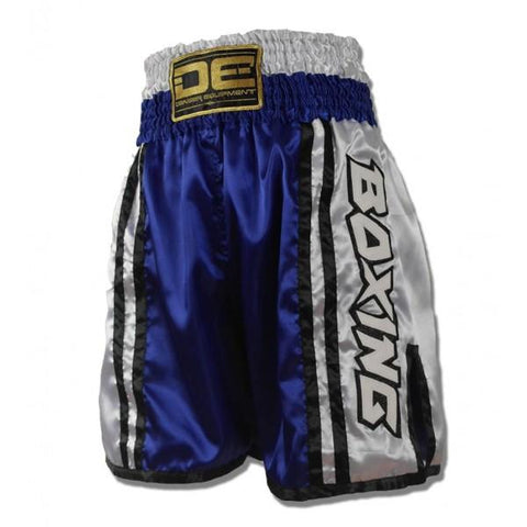 Boxing / K-1 Shorts - Danger Blue / White Boxing / K-1 Shorts