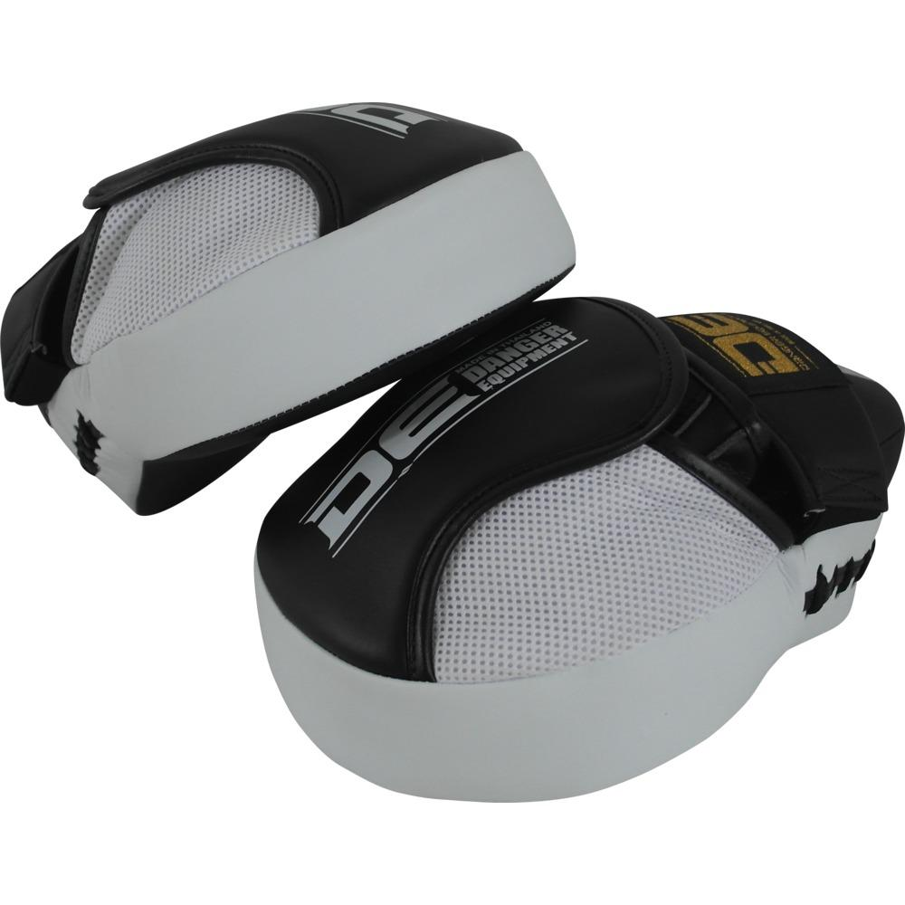 "Focus Mitts - Danger Black / White ""Impact"" Focus Mitts"