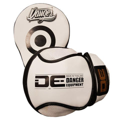 "Focus Mitts - Danger White / Black ""Impact"" Focus Mitts"