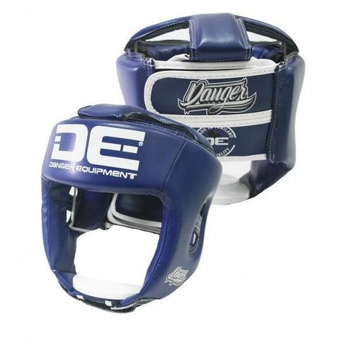 Head Guard - Danger Blue Competition Edition Kids Head Guard