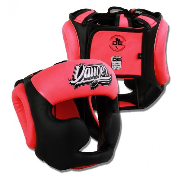 Head Guard - Danger Pink Evolution Edition Kids Head Guard