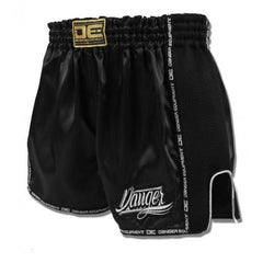 Low Cut Shorts - Danger Black With Microfibre Low Cut Shorts