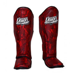 Shin Guards - Danger Red Army Edition Kids Shin Guards