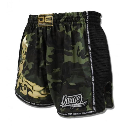 Special Fit Shorts - Danger Camo With Black Microfibre Special Fit Shorts