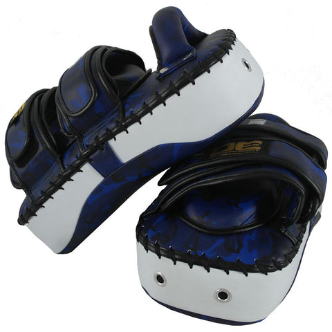 "Thai Pads - Danger Blue Army Kicking ""Pro Edition"" Thai Pads"