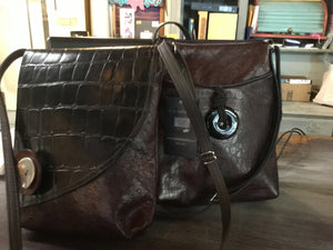 HIPSTER & LONG FLAPPER LEATHER BAG