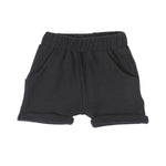 Black Terry Shorts