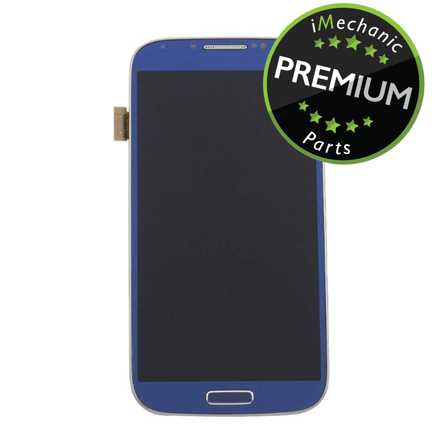 LCD Assembly With Frame For Samsung Galaxy S4 I337/M919 (Premium) (AT&T & T-Mobile/ Straight Talk) (Arctic Blue)