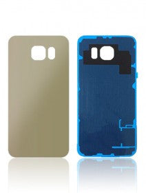 Back Cover For Samsung Galaxy S6 (Gold)