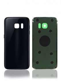 Back Cover For Samsung Galaxy S7 Edge (Black)