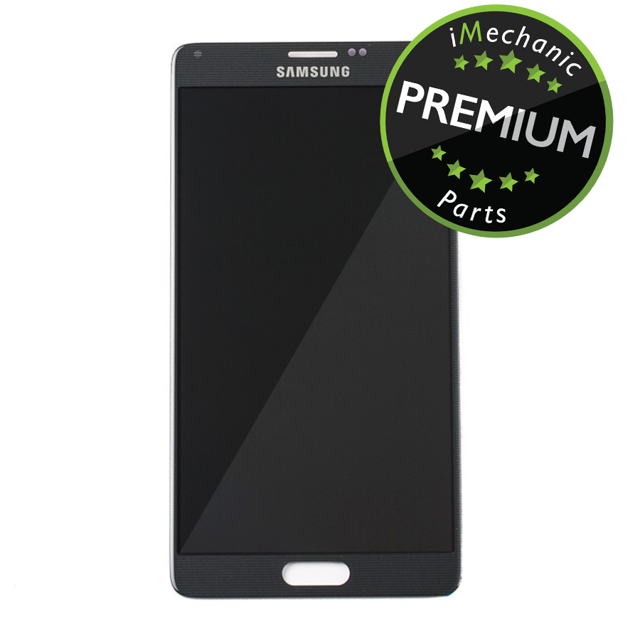 LCD Assembly Without Frame For Samsung Galaxy Note 4 (Premium) (Black)