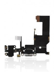 Charging Port Flex Cable For iPhone 5 (Space Grey)