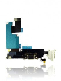 Charging Port Flex Cable For iPhone 6 Plus (Gold)