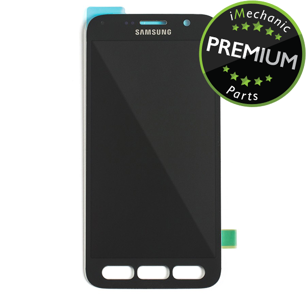 LCD Assembly Without Frame For Samsung Galaxy S7 Active (Premium) (Grey)