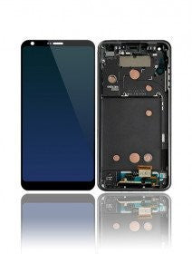 LCD Assembly With Frame For LG G6 (H870) (Black)