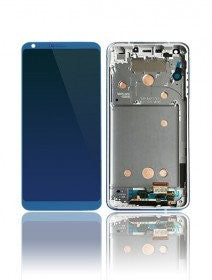 LCD Assembly With Frame For LG G6 (H870) (Blue)