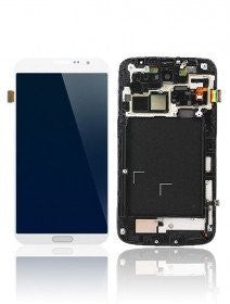 LCD Assembly With Frame For Samsung Galaxy Mega 6.3 (White)