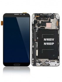 LCD Assembly With Frame For Samsung Galaxy Note 3 N900P/N900V (Verizon and Sprint) (White)