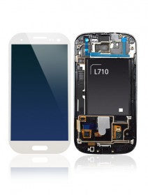 LCD Assembly With Frame For Samsung Galaxy S3 L710 (Sprint) (White)