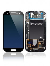 LCD Assembly With Frame For Samsung Galaxy S3 i535 S968C (Verizon) (Black)