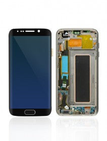 LCD Assembly With Frame For Samsung Galaxy S7 Edge (All US Models) (Black)