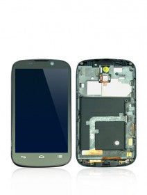 LCD Assembly With Frame For ZTE N861 (Black)