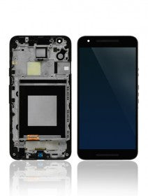 LCD Assembly With Frame for Nexus 5X (Black) (H790)