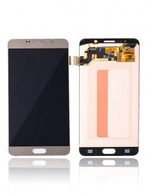 LCD Assembly Without Frame For Samsung Galaxy Note 5 (Gold Platinum)