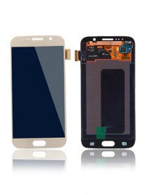 LCD Assembly Without Frame For Samsung Galaxy S6 (Gold Titanium)