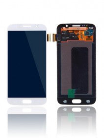 LCD Assembly Without Frame For Samsung Galaxy S6 (White Pearl)