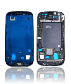 LCD Frame For Samsung Galaxy S3 (Verizon/Straight Talk) (I535) (Blue)