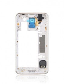 Mid-Frame Housing For Samsung Galaxy S5 (With Middle Plate And Small Parts) (Silver/Black) (Sprint/ US Cellular)