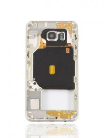 Mid-Frame Housing For Samsung Galaxy S6 Edge Plus (With Small Parts) (Gold Platinum)